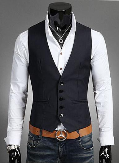 Slim Suit Vest