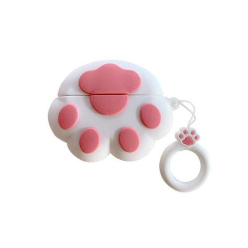 Kwaii Cat Claws AirPods Pro Charging Headphones Cases With Keychain