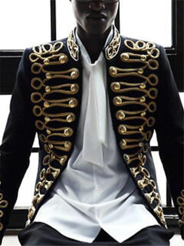 Fashion Men's Long Sleeve Coat