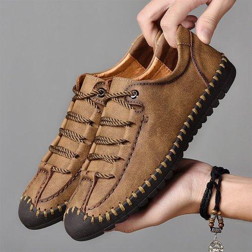 Men's large manual casual shoes