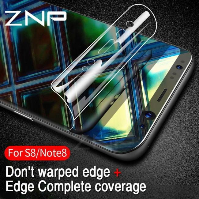 3D Curved Soft Protective Film For Samsung Galaxy (Not Glass)