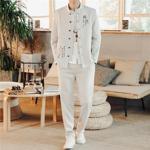 2020 Spring and summer new Black Men Suit 2 Piece Set Size 4XL Fashion Wedding Banquet Party male Leisure Suits Jacket and Pants