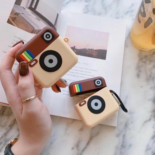 Camera Cute 3D Silicone Airpod Case Cover