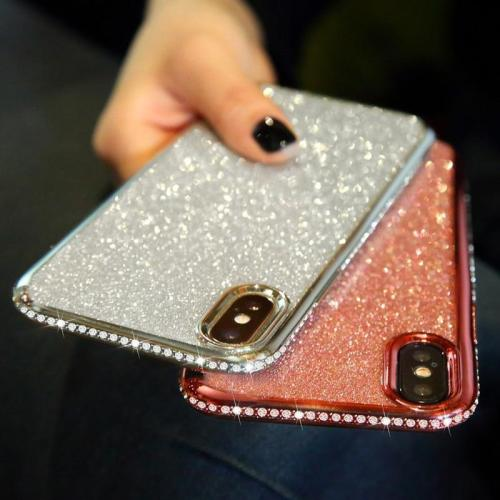 Diamond Glitter Shockproof Case for iphone XR XS MAX XS X 6s 6 8 7 Plus