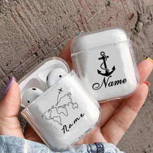 DIY Custom Name Plastic AirPod Case Cover
