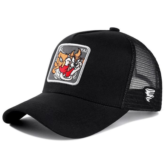 Cartoon Mickey DONALD Duck Snapback Cotton Baseball Cap Men Women Hip Hop Dad Mesh Trucker Hat