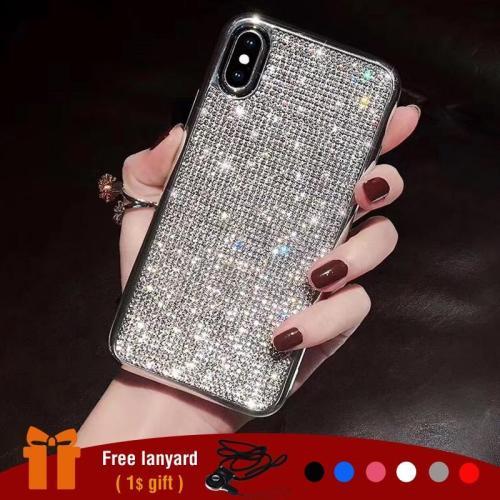 Luxury Glitter Rhinestone Phone Case For iPhone
