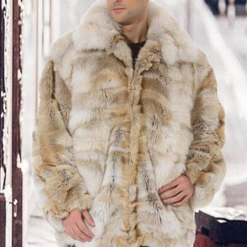 Fashion Warm Faux Fur Long Coat