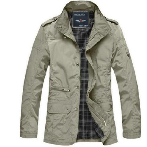 men's windbreaker jacket england style Slim Fit hot sale polo Sportswear Bomber outwear spring Mens jackets and Coats 4xl 5XL