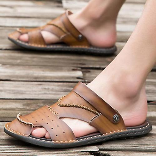 Mens Summer Non-slip Outdoor Breathable Sandals