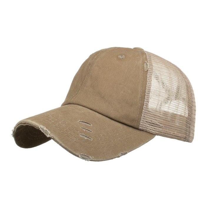 Unisex Hats Hip-hop Breathable Mesh Baseball Bat New Cap Cotton Material Winter Outdoor Sun Hat