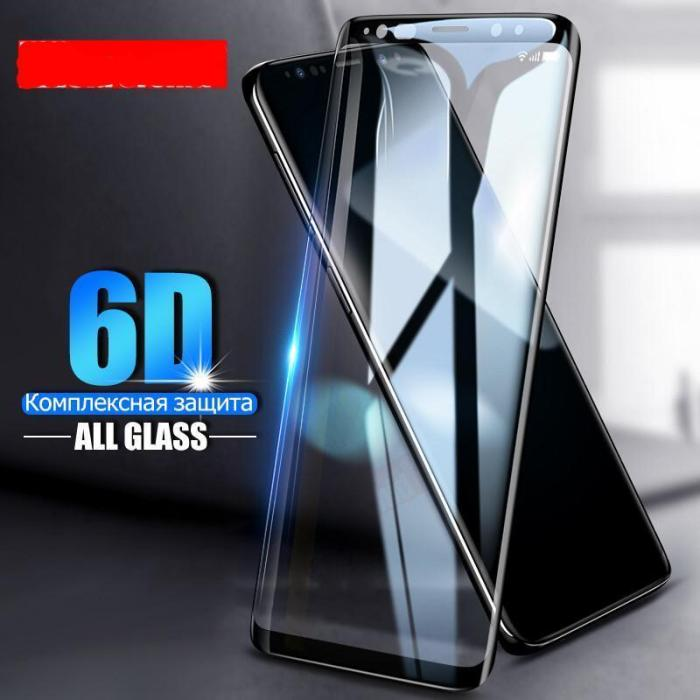 6D Full Cover Tempered Glass For Samsung Galaxy