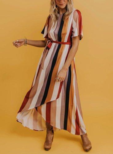 Casual Multi Maxi Dress