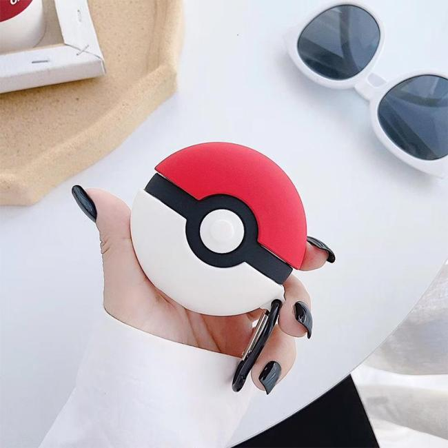 Poké Ball Pikachu AirPods Pro Charging Headphones Cases For Airpod Protective Cover