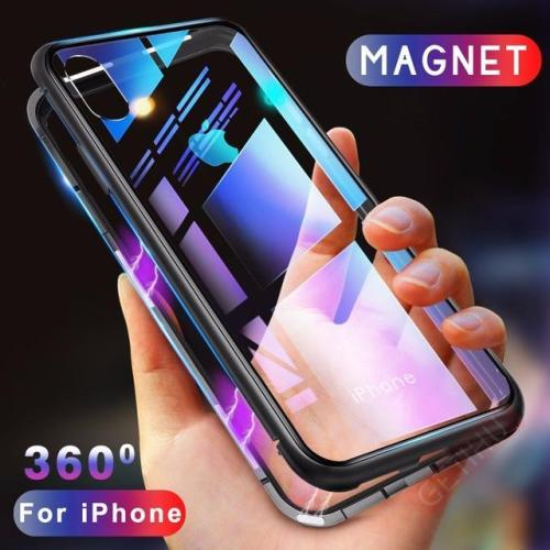 2in1 Magnetic Adsorption Bumper Case For iPhone