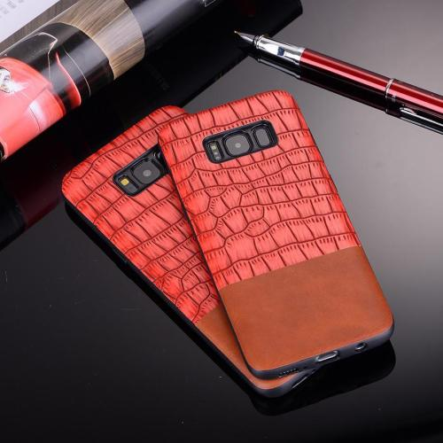 Luxury Crocodile Leather Case for SAMSUNG S8 S8+