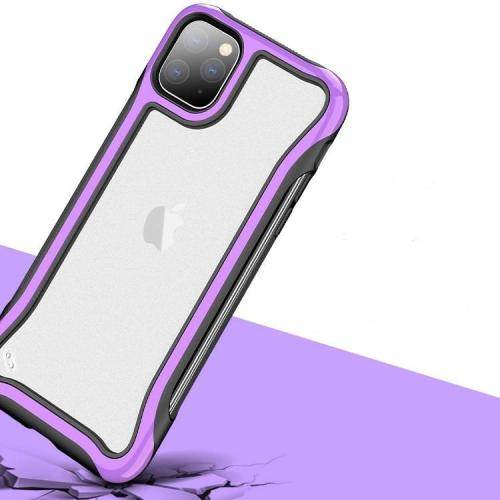 Armor Shockproof Hard PC+TPU Transparent Case for iPhone