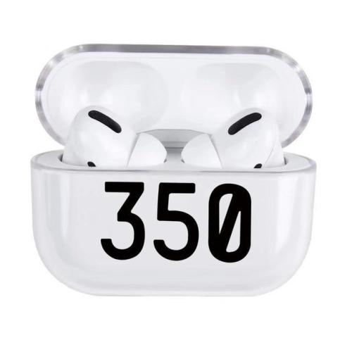 Fashion Trend Number 350 Transparent Airpods Pro Case
