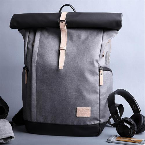 Casual Multi-Functional Oxford Backpack