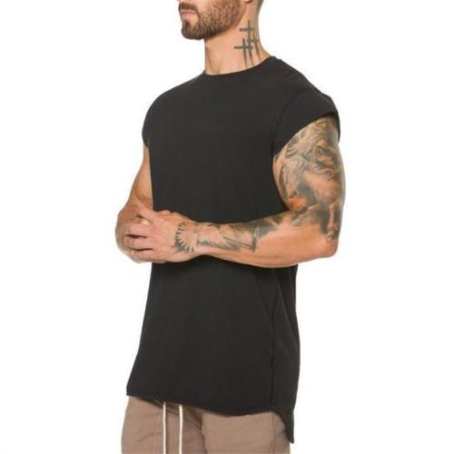 Men's Fashion Cotton Bodybuilding Top