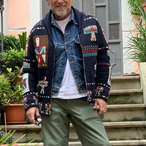 Men's Vintage Zip Jacket