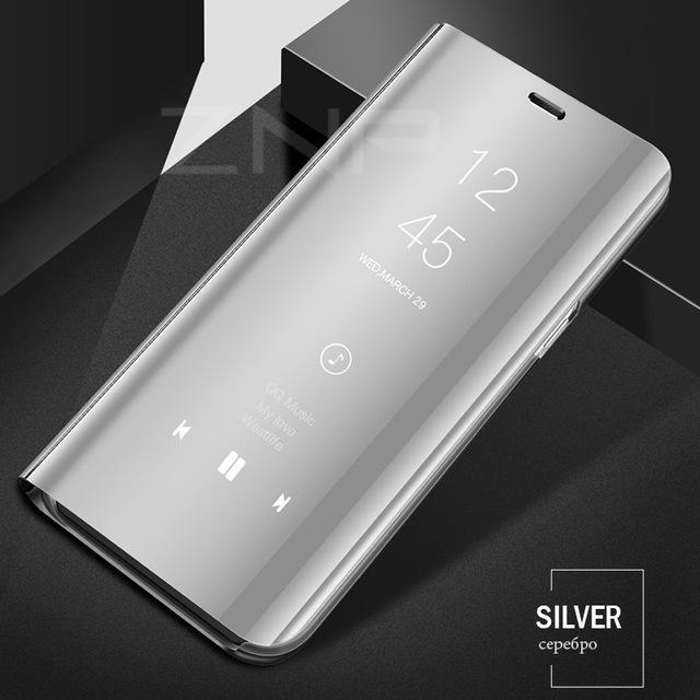 Luxury Flip Stand Phone Cover Smart View Case For Samsung Galaxy