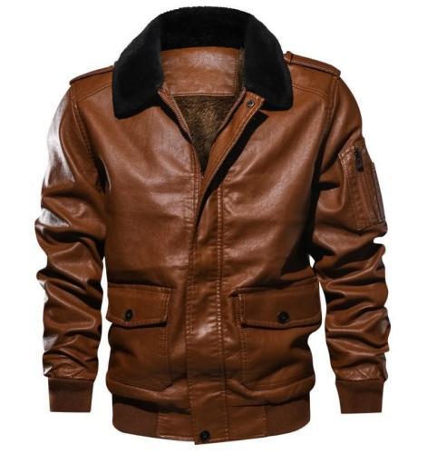Winter Men's Faux Leather Jackets