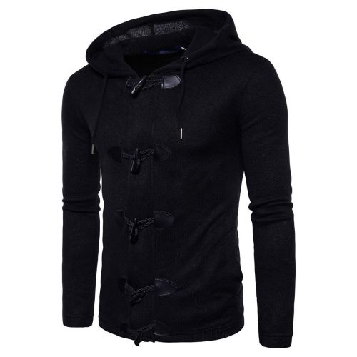 Cool Fashion Plain Slim Button Winter Short Coat