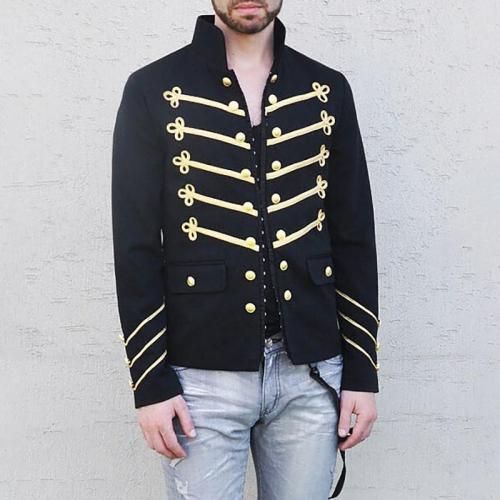 Men's Double-Breasted Autumn Coat