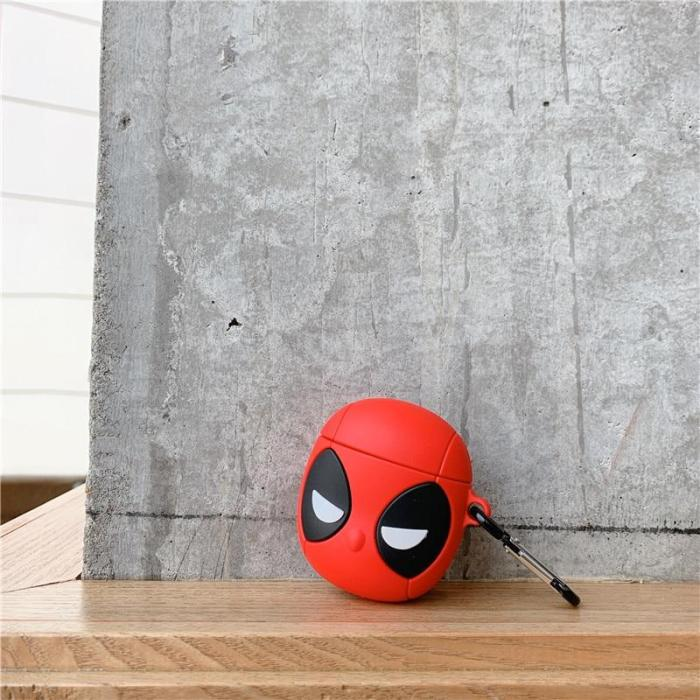 3D Superhero Deadpool Airpods Cases For Airpods 1/2