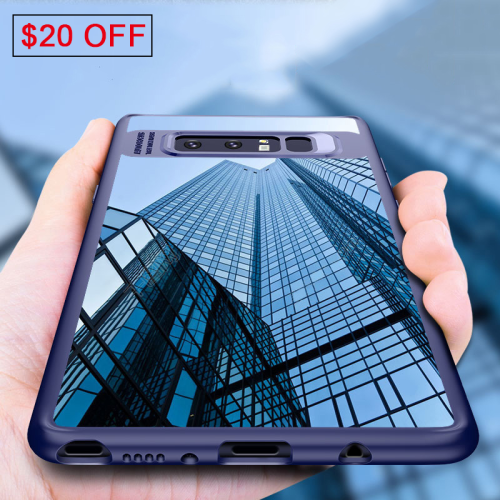Full Protective Silicone TPU PC Case For Samsung Galaxy