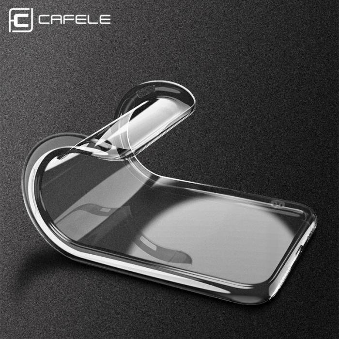 Original Fashion Ultra Thin Transparent Soft Case For iPhone X