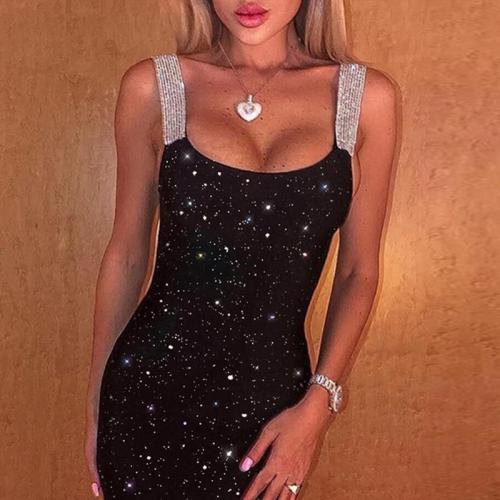 Women's Fashion Sleeveless Mini Dress
