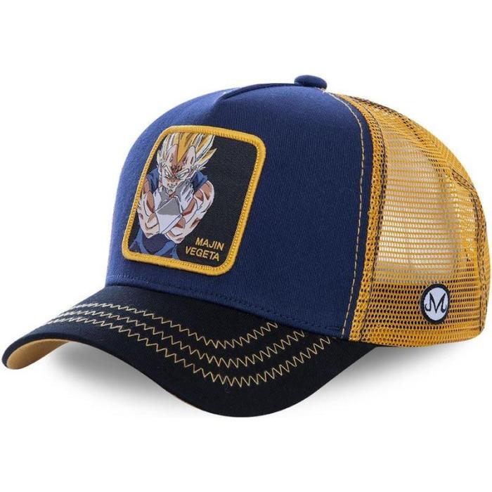 Dragon Ball Captain Tsubasa Snapback Cotton Baseball Cap Men Women Hip Hop Dad Mesh Hat