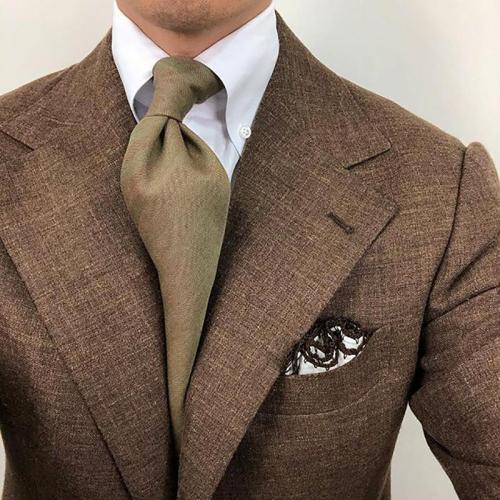 Brief Pure Color Casual Necktie