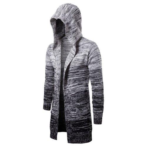 Medium And Long Gradient Sweater