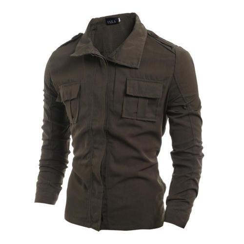 Cotton Blend Mens Fashion Jacket