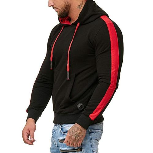 Men's autumn new brand men's hooded sports jacket outdoor jogging fitness clothes track suits