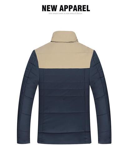 Men's Casual Warm Student Cotton Coat