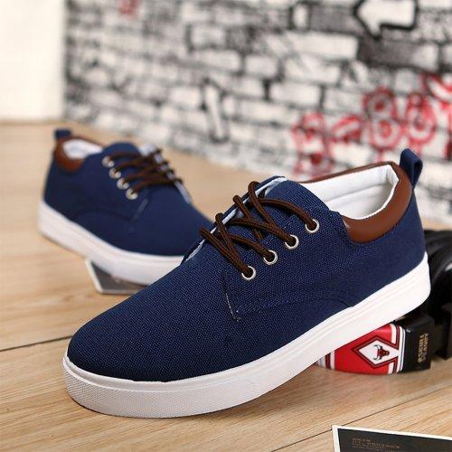Men's canvas casual sports shoes
