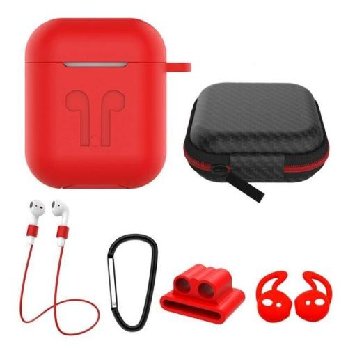 6 in 1 AirPods/AirPods 2 Case Accessories
