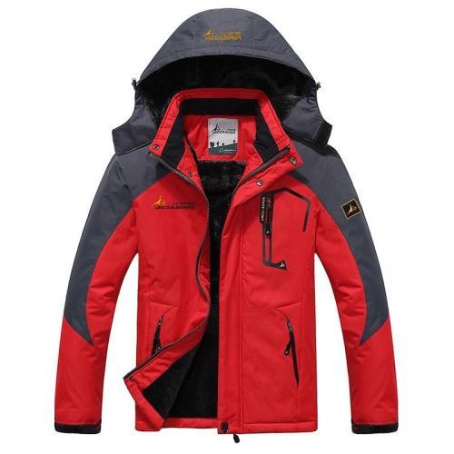 5 6XL Men's sporting jogger Thermal sportswear tracksuits Sweatshirts Waterproof Hoodies windbreaker Mens Warm jackets and coats