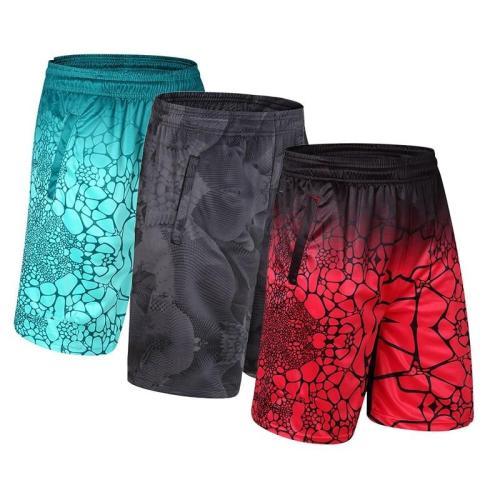 Men Basketball Shorts Sports Running Breathable Shorts With Pocket Summer Athletic Men's Shorts Leisure Large Size Loose