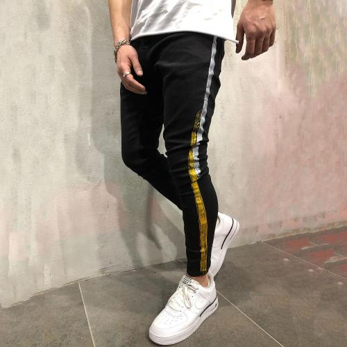 Casual Pocket Tight Zipper Jeans