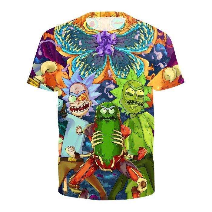 Dr. Zomboss Print Round Neck Pullover Short Sleeve T-shirt