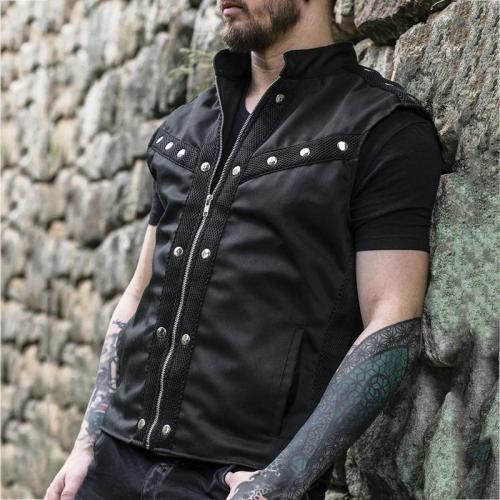 Men's fashion stitching vest