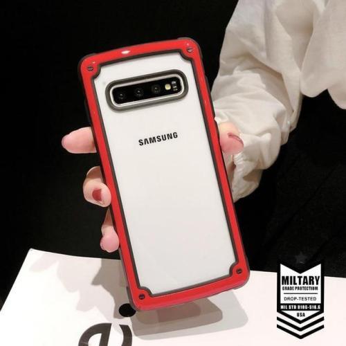 Luxury Armor Soft Silicone Case For Samsung Bumper Case