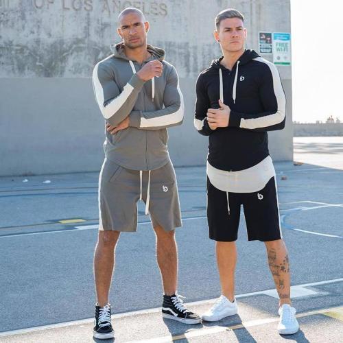 Basketball Training Shorts Men's   Cotton Fitness Pants