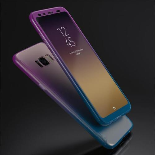 360 Hard PC Gradient Color Cases for Samsung Galaxy S8/7 Note8