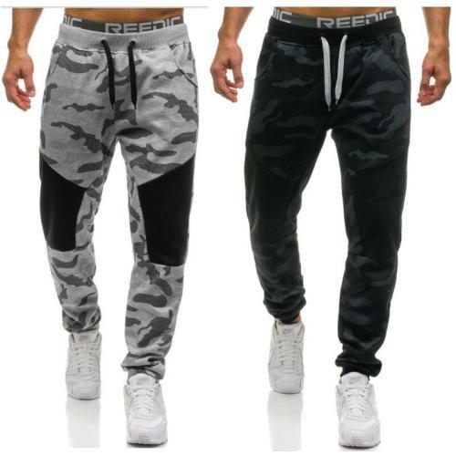 Men's Camouflage Guard Pants Casual Sports Pants